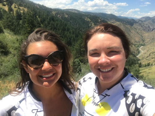 WE DID ALLLLL THE CLIMBING