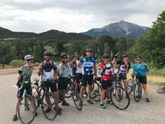 Met Greg on our way up to McClure Pass. He raises ALL THE $ for the JDRF ride every year! Love meeting amazing people!